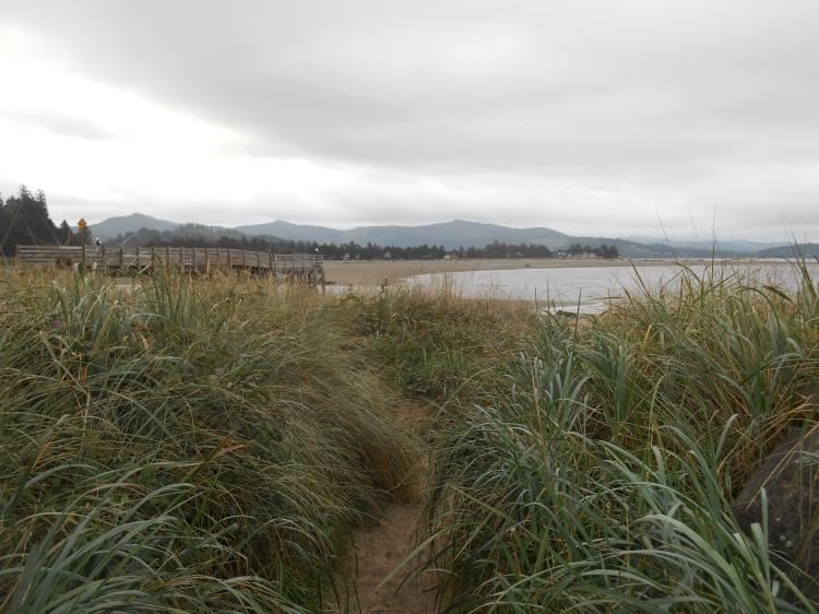 September 17, 2020:  The beach at Taft, Lincoln City, Oregon 2019